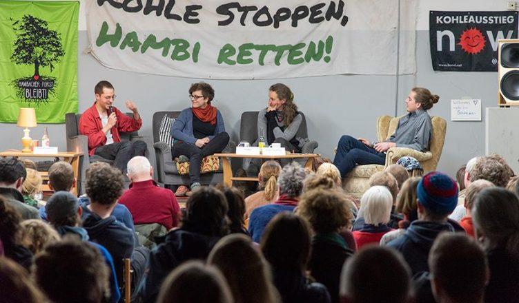 Hambi Bleibt   Alte VHS Bonn   Kohle stoppen